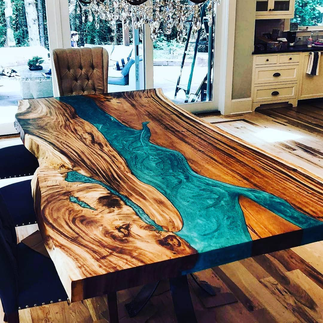 18 Unique Wood Table Ideas For Modern Designs 2019 My Blog