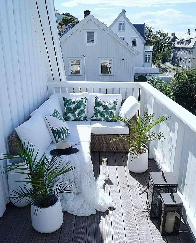 Home Design Ideas For 2019: 40 Cozy Balcony Ideas And Decor Inspiration 2019