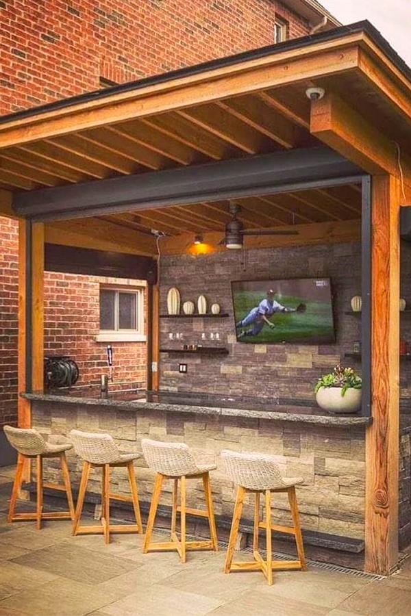 Patio Ideas - Outdoor Bar