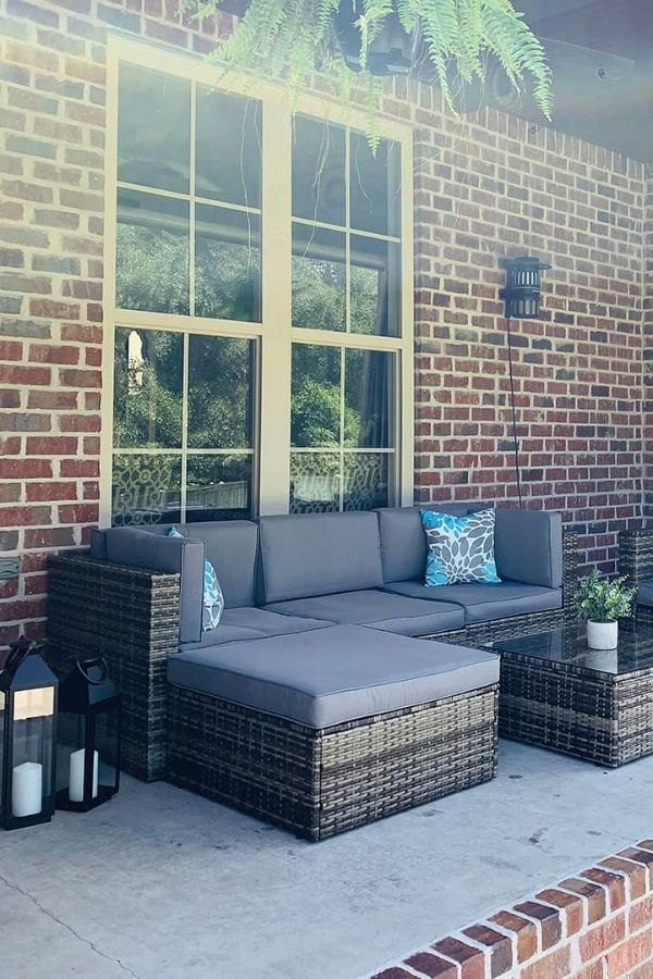 patio sectional couch