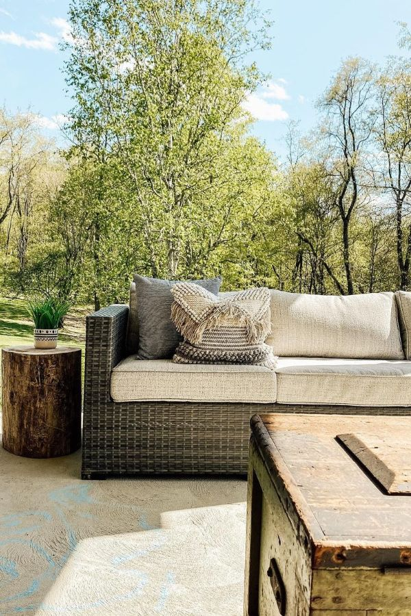patio sectional home depot