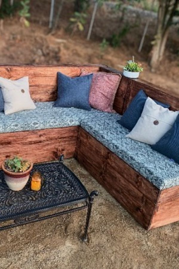 outdoor furniture wooden